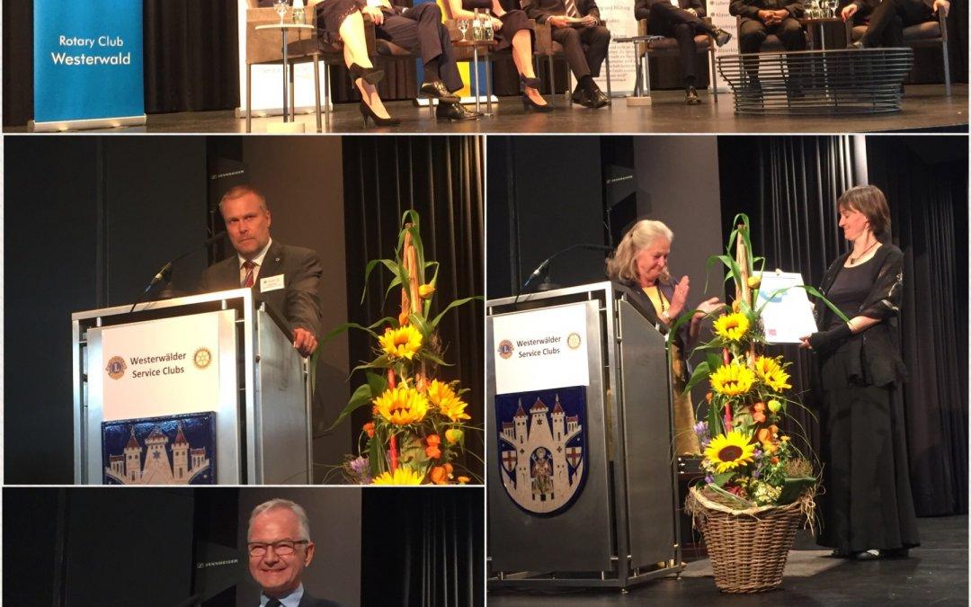Podiumsdiskussion Ökonomie und Ethik, September 2018