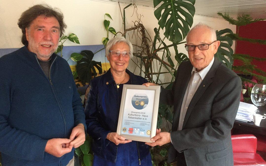 Ehrenpreis Helmut Nöllgen, November 2018