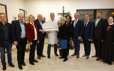 Spende Kamillus Klinik, Dezember 2018