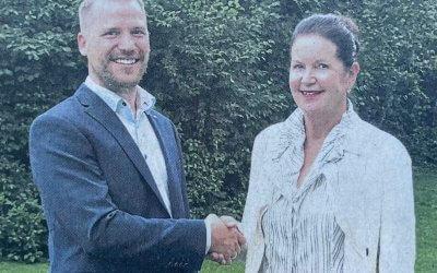 Florian Detjen tritt Präsidentschaft an